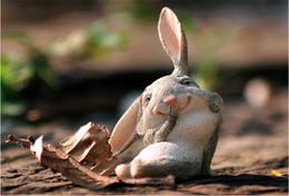 Canada Pâques Résine Lapin Jouets Mignon lapin décoration résine enfants chambre balcon jardin décorations créatives table petit bureau Offre