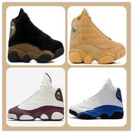 Wholesale womens black canvas - Discount 13 Olive Altitude ITALY BLUE Bordeaux Sngl Day Love And Respect Chicago bred Basketball Shoes 13s Mens Sports shoes Womens Athletic