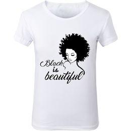 Hermoso gráfico online-Nuevas mujeres Black Girl Magic T-Shirts Black IS beautiful graphic racist human rights White tumblr fashion T-shirt Fashion tees top