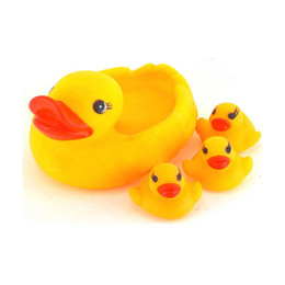 Discount rubber duck bathroom toy - Hot Selling New Arrival Cute Colorful Baby Kids Soft Rubber Duck Dog Animals With Sound Baby Bathroom Squeaky Sound Toy