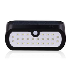 Wholesale Patio Led Lighting - 26 LED Solar Light Outdoor IP65 Waterproof Wireless Motion Sensor Solar Wall Light Night Lighting for Garden Patio Pathway Garage Driveway