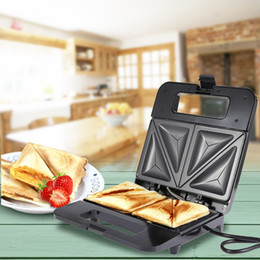 Household Electric Sandwich Makers Sandwich Waffle Makers Machine Multifunction Grilling Panini Press Plates Waffle Toaster NB