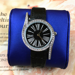 Wholesale Ladies Watch Faces - Top Brand Women Watches Leather Rose Gold Ladies Quartz Fashion Dress Watches Female Clock Square Dial Face 15pcs DHL Freerelogio masculine