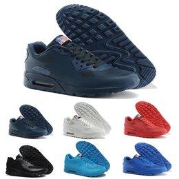 5d38377fd085 usa flag shoes 2019 - 2018 New hot Unisex Men Women USA 90 maxies P American