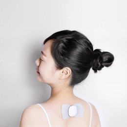 Wholesale Snaps Machine - Xiaomi Mi Home Electrical TENS Pulse Therapy Massage Machine Acupuncture Snap-on Electrode Pads Body Patch Electrical Full Body Massager
