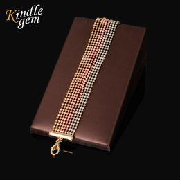 Wholesale Love Express - whole saleAlibaba-express Charm 3Color Beads Bracelets&Bangles Luxury Brand Femme Love Jewelry Handmade Dubai Gold Color