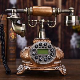2019 telefone de casa rosa quente Almirante antigo telefone europeu moda criativa retro telefone antigo escritório em casa linha fixa fixa americana