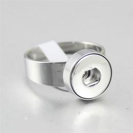 pedras verdes azeitonas Desconto Noosa de aço inoxidável botão snap tamanho do anel 7,8, 9, 10 de alta qualidade unisex diy 12mm 18mm charme botão snap pedaços anéis jóias