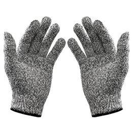 Антирежущие перчатки онлайн-Cut-resistant Anti-Knife Glove Chain Saw Safty Gloves Level 5 Protection Hunting Gear Travel Tool Camping Size L XL