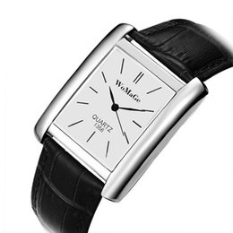 Кварц смотреть онлайн-New unisex Fashon  Womage Quartz Casual Pu Leather Watch  Analog watches women male female Lady Girl Quartzwristwatch