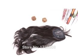 Wholesale cheap synthetic hair weave - Cheap Peruvian Silk Base Closure Natural Black Synthetic Hair Silk Top Lace Frontal Closure with bundles, weave with closure