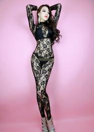 2019 cosplay catsuit deadpool Taille adulte Unisexe Sexy Black Lace Full Body Zentai Catsuit Costume Unitard Justaucorps Pas de mains de capot
