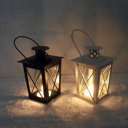 Wholesale Moroccan Candle Holders Wholesale - Moroccan Decor Iron Moroccan Style Candlestick Lantern Candle Holder Candle Stand Light Holder Decoration Sconce Candle Lantern