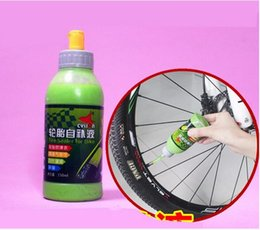 Wholesale Tyre Patch Kit - 1 bottle 150 ML MTB Bike Wheel Tire Tool Kits Tyre Sealer Protection Puncture Sealant for Bike Bicycle Tire Patch Repair Glue