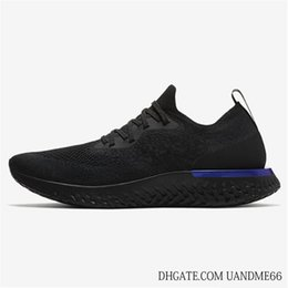 Wholesale Tops For Women Sale - 2018 Top A1 N K Epic React Instant Go Fly Breath Comfortable Sport Boost Size 5-11 Mens Running Shoes For Sale Women Athletic Sneakers