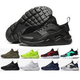 Wholesale Light Weight Cotton Fabric - New Design Air Huarache 4 IV casual Shoes For Women & Men Light weight Huaraches Sneakers Athletic Sport Outdoor Huarache Shoes 36-45