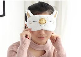 спящая маска для девочек Скидка путешествия маска для глаз единорог игрушка с завязанными глазами персонализация подарок мультфильм симпатичные тени Мягкая обложка для Девочка ребенок подросток путешествия сна тени для век глаз