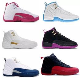 Discount premium boots - High quality 12 Premium Deep Royal Blue Suede 12s Black Nylon Basketball Shoes Men Sports Shoes sneakers Boots