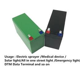 appareils solaires Promotion Batterie rechargeable 200W 12v 16ah pour le pulvérisateur de puissance Pompe à pêche finder Lumière solaire Lumière de secours Dispositifs médicaux