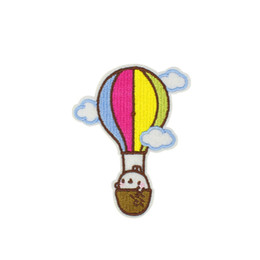 Wholesale Hot Air Iron - 10PCS DIY Sky Cloud Hot Air Balloon Sewing Embroidered Patches for Cute Cartoon Clothes Applique Patch Iron on Garment Accessories Patches
