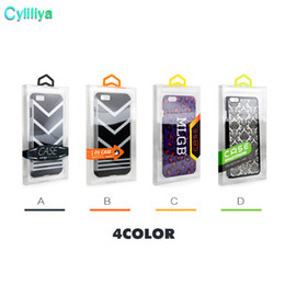 Wholesale Phone Case Blister Package - 300pcs Fashion Blister PVC Plastic Clear Retail Packaging Custom Logo Packing Box For iPhone 6 4.7 5.5 Mobile Phone Case