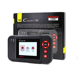 Wholesale Rover Oil - Launch Creader VIII Code Reader X431 Creader 8 Supports 4 System With ERP +Oil Reset +SAS Functions Free Update Online