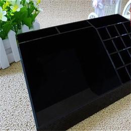 2019 заклинальные ящики Акриловая черная помада многофункциональный спальня уборка помада гостиная ящик для хранения макияж рабочего стола получить коробки чистый цвет 35hl bb