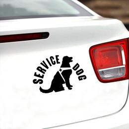 2019 involucro d'aria da 3 metri 13.2 * 7.8cm Servizio Cane Carino Interessante Moda Animali Adesivi per auto Decalcomanie in vinile Moto Car Styling Accessori auto