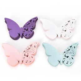 50 Laser Cut Butterfly Tisch Mark Weinglas Nombre Tischkarte Hochzeit Fiesta Decoraciones De Boda Tarjetas Invitaciones