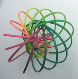 fluxo de plástico Desconto Flowtoys Plástico 15 cm Anéis De Fluxo Anel Mágico Fidget Brinquedo Ao Ar Livre Presentes para Crianças Adultos Brinquedos De Descompressão FRT 001