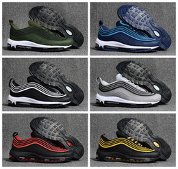 Wholesale Generation Blue - 2018 New Men 3 Generation Low Air 97 OG Cushion Breathable Running Shoes Massage Mens Trainers 97s Ultra Sports Outdoor Sneakers Size 40-47