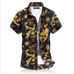 Imprima os dois lados on-line-Designer de marca-Alta Qualidade Verão Impresso Camisa Dos Homens Plus Size Ambos Os Lados de Impressão de Boa Qualidade Dos Homens T camisas Flor Casual T-shirt Tamanho grande