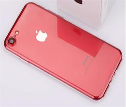 housses de téléphone cellulaire en gros Promotion Pour iphone X cas de téléphone portable avec iphone 8 plus 7 6 s Téléphone portable couverture arrière ultra-mince en silicone mat