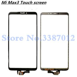 сенсорная панель датчика Скидка Replacement High Quality For Xiaomi Mi Max 3 Max3 Touch Screen Digitizer Sensor Outer Glass Lens Panel