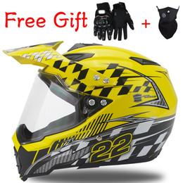 2019 novos capacetes fora da estrada Novos Mens motos capacete da motocicleta off road casco capacete de motocross Dirt Bike Rally racing capacete DOT desconto novos capacetes fora da estrada