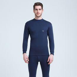 d28c9b78e8 2019 camisas térmicas blandas Nuevos conjuntos de ropa interior térmica  para hombres Conjuntos de ropa de