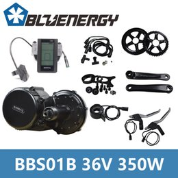Wholesale Electric Bicycle Bike Motor Kit - Free Tools 2018 Bafang 8fun BBS01B BBS01 36V 350W Electric Bicycle Kit Mid Crank Motor with C965 Display for Electric Bikes