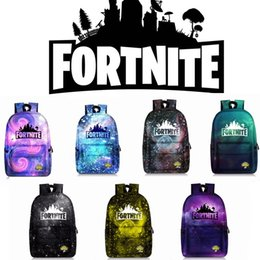 7fb323b5ba2d 7 color Fortnite School Bag Casual Rucksacks Big Size Travel Bag Cartoon  Game Printed Student Backpack Book Bag for Boys and Girls MMA538 5