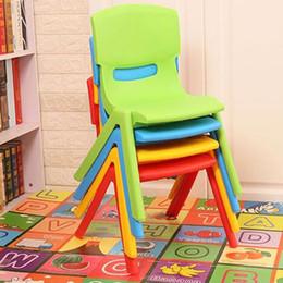 5 PCS H25cm crianças cadeiras de jardim de infância cadeiras cadeiras do bebê fezes fezes de plástico dobrável encosto tamboretes de