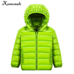 Wholesale Next Kids Clothes Girls - Xemonale 2-13Y Cheap Boys Down Coat Girls Children Spring Jackets Kids Next Girl Autumn jacket Feather Clothes Fall Coats Enfant