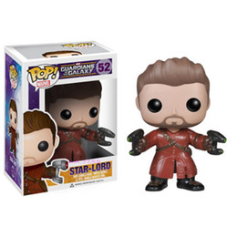 figure di jazz Sconti Star Lord Funko POP Movie Anime Action Figure Animazione 10CM Guardiani della Galassia 4 Jazz Rockets Yondu figure Groot box