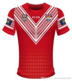 Taza de prueba online-TONGA RUGBY LEAGUE COPA DEL MUNDO JERSEY 18 Nueva Zelanda TONGA camisetas de rugby TONGA RUGBY LIGA 2018 PACIFIC TEST JERSEY tamaño S-3XL