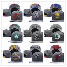 Wholesale Cheap Sports Teams Snapback Hats - 2018 new Top Sale Cheap free shipping style basketball Snapback Caps Adjustable All Team football Hats Hip Hop Snapbacks Players Sports hats