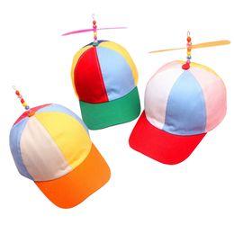 1350962d5436d 15PCS LOT SINGYOU Adult Propeller Baseball Cap Cotton Casual Colorful  Patchwork Men Women Lovely Cap Bamboo Dragonfly Dad Hat