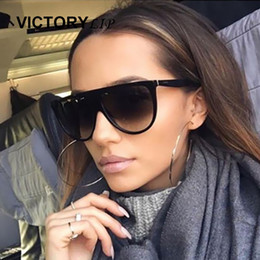 5f53fff808 VictoryLip Clear Cat Eye women Sunglasses Brand Designer CatEye Hot Sun  Glasses Female Popular Fashion 2017 New Superstar