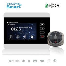 espectador de la puerta timbre de la cámara de seguridad Rebajas Funxwe 4