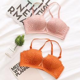 d90f131f82 2018 High-end Romantic Temptation Bra Set Women Fashion Stripes Underwear  Set Push Up Seamless Lade Bra and Panties Set
