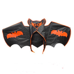 Wholesale Nylon Bird - Free Shipping high quality large bat Kite with handle line weifang kites factory wholesale bird kite wheel octopus albatross