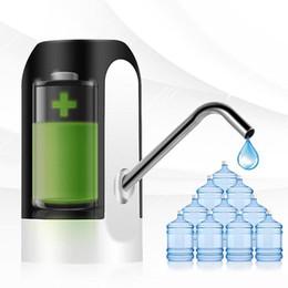 nuovo arrivo 4W USB ricaricabile distributore di acqua elettrico pompa di acqua automatica portatile viaggio all'aperto pompa di secchio di acqua di aspirazione elettrica da