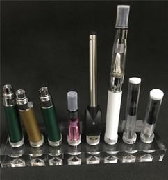 Support clair de support de voiture de vape de support d'étagère acrylique pour le vaporisateur Ego Evod atomiseurs de batterie stylo de vapeur cigarette électronique ? partir de fabricateur